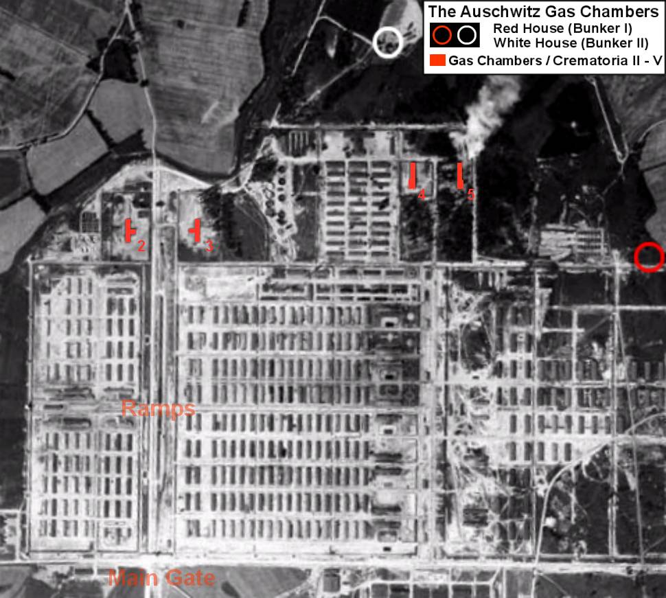 "Where Was The Auschwitz Camp Located: The Location Of ""the Little Red House,"" The First Gas"