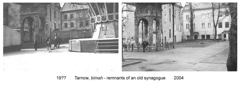 Remnants Of A Tarnow Synagogue