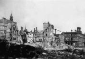 Ruins in             Riga