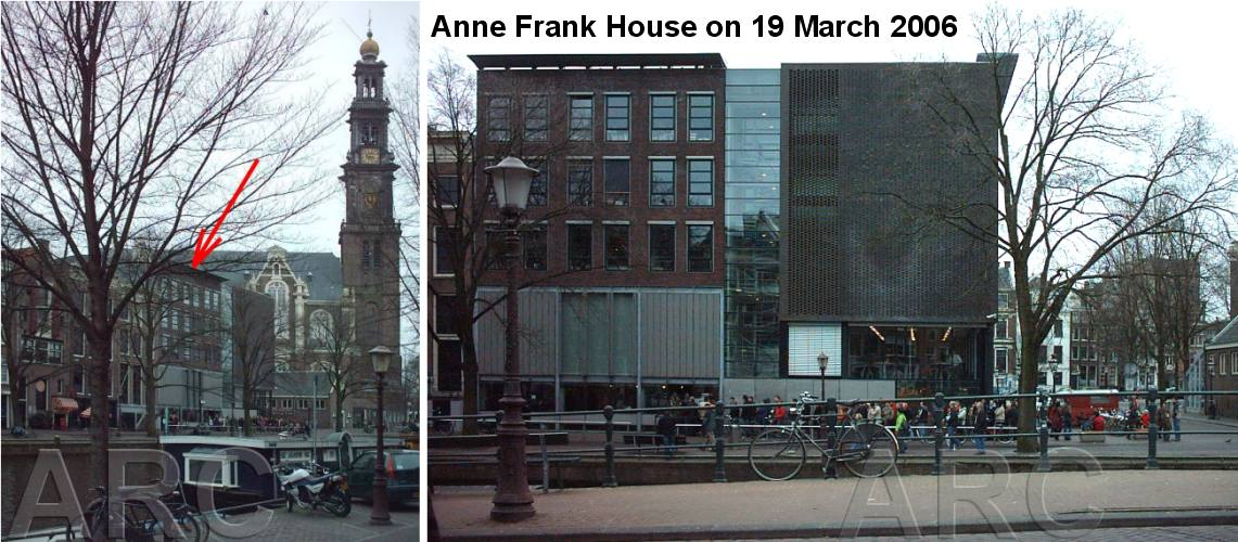 Anne Frank, her family and the