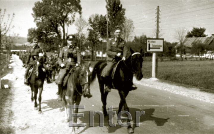 Occupation of poland during world war 2 - chris webb photo collection